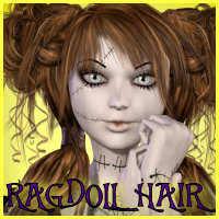 Rag Doll Hair 3D Models 3D Figure Essentials Propschick