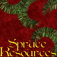 Spruce Resources 3D Models 2D Graphics designfera