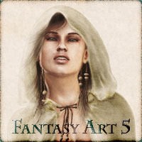 Fantasy Art 5 3D Figure Essentials vikike176