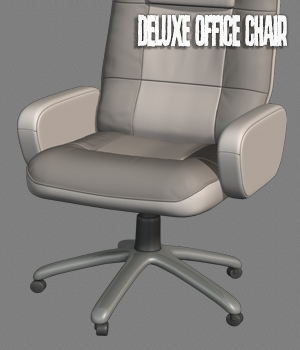 Deluxe office chair 3D Models hameleon
