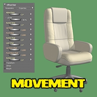 Deluxe office chair image 1
