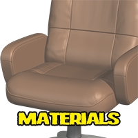 Deluxe office chair image 6