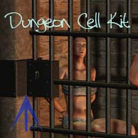 Dungeon Cellkit 3D Models 3D Figure Essentials Andrus63