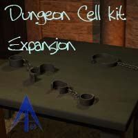 Dungeon Cellkit Expansion Props/Scenes/Architecture Themed Poses/Expressions Andrus63