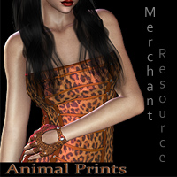 FS Animal Prints Merchant Resource 3D Models 2D FrozenStar