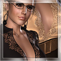Business Vogue for Al3d's BusinessLady 3D Models 3D Figure Essentials Romantic-3D