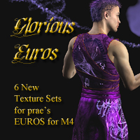 Glorious Euros Textures 3D Figure Essentials lwperkins