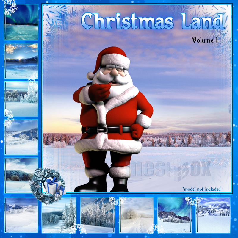 Meshbox Christmasland Backgrounds 1