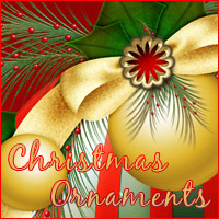 Christmas Ornaments 3D Models 2D Graphics Makena