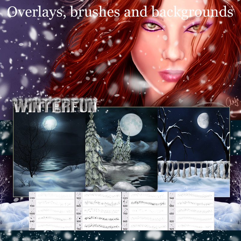 Atmospheric Overlays - Winterfun