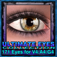 Exnem's Ultimate Eyes Collection for V4/A4/G4 2D Graphics 3D Figure Assets exnem