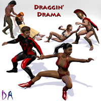 Draggin' Drama 3D Figure Assets 3D Models Don