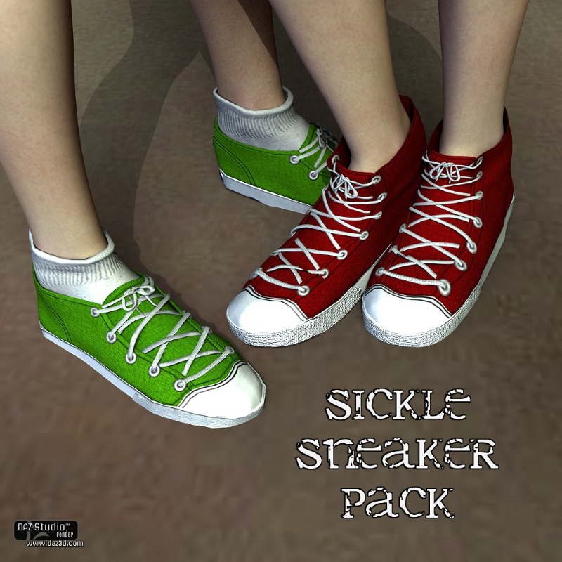 Sickle Sneaker Pack V4A4S4