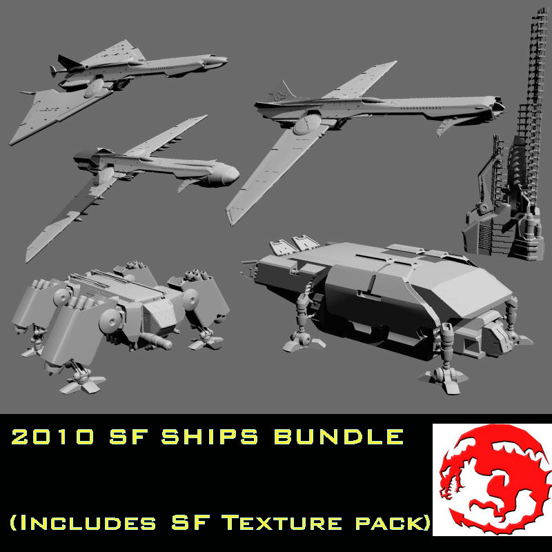 2010 SF SHIPS BUNDLE