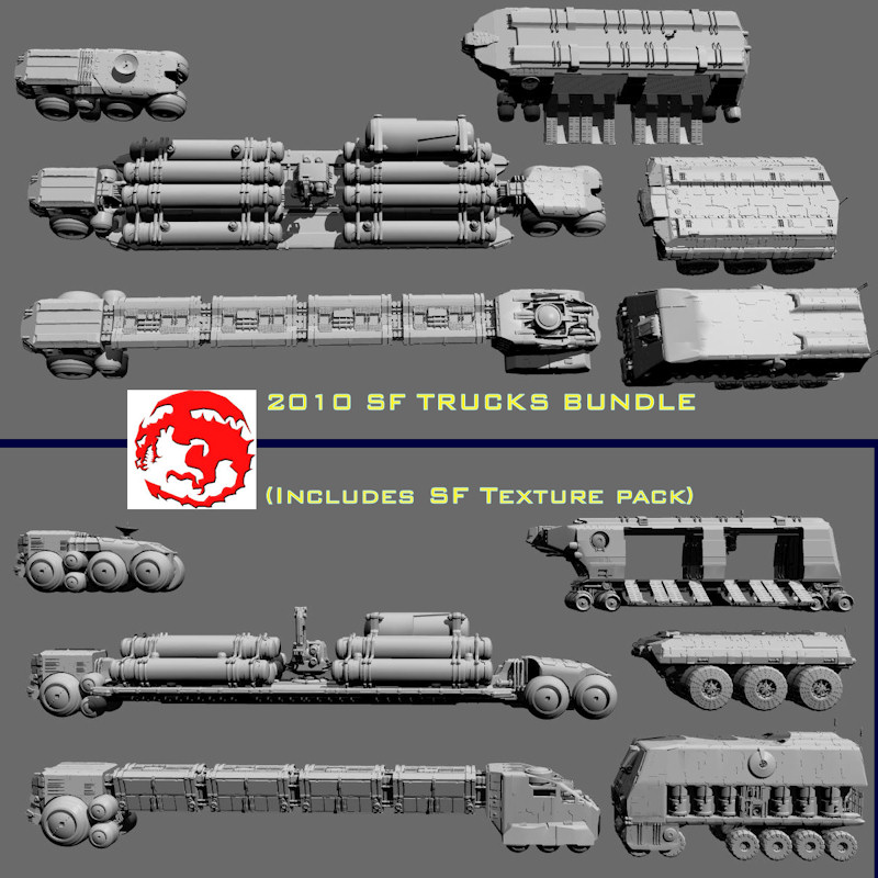 2010 SF TRUCKS BUNDLE