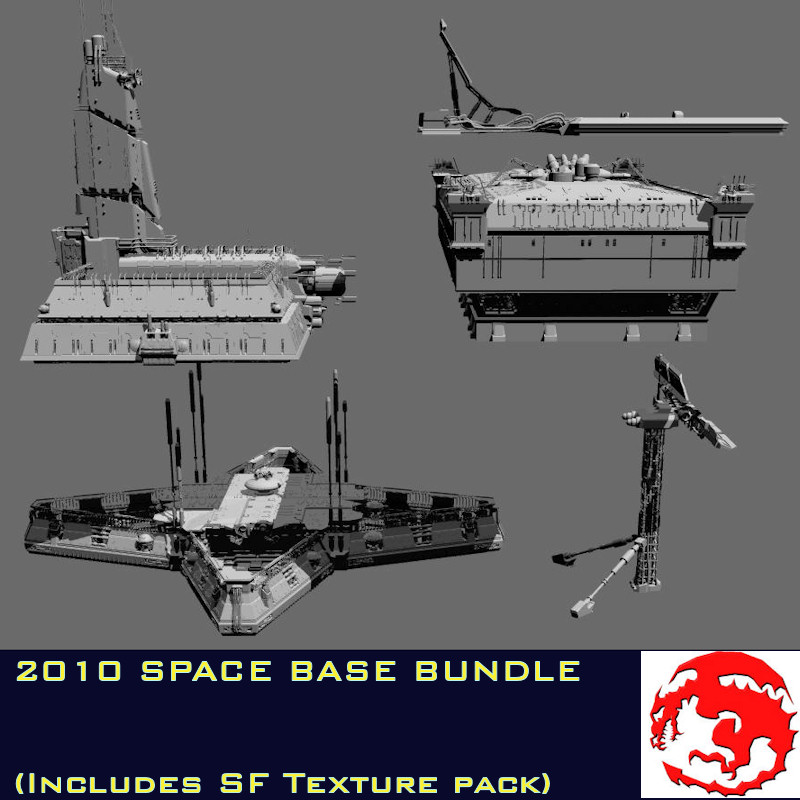 2010 SPACE BASE BUNDLE