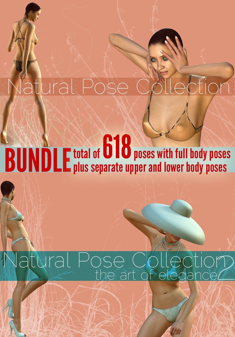 Natural Pose Collection BUNDLE