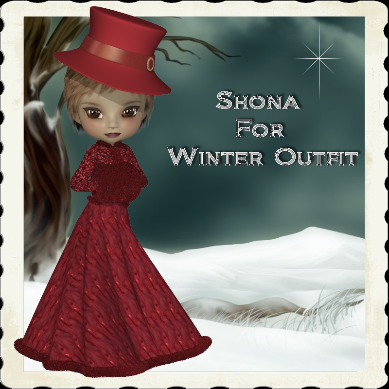 Shona for Winter Outfit for Cookie