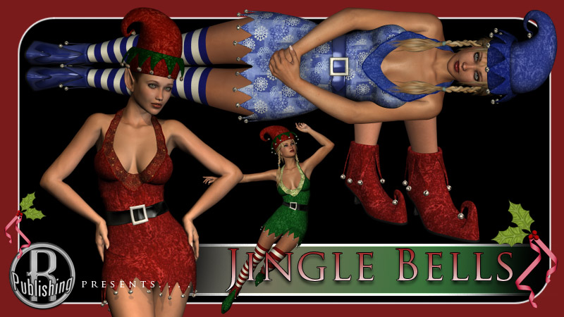 Jingle Bells - Christmas Dress V4