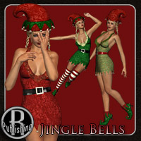 Jingle Bells - Christmas Dress V4 Themed Clothing RPublishing