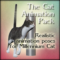 The Cat Animation Pack Poses/Expressions 2D And/Or Merchant Resources anniemation