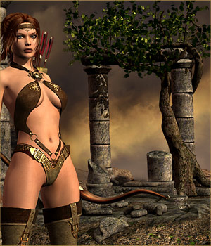 DMs Thorns of Time 3D Figure Assets 3D Models DM