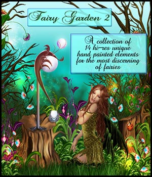 The Fairy Garden 2 3D Models 2D Graphics Bez