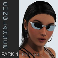 V4 Sunglasses Pack 1 Software Themed Accessories TruForm