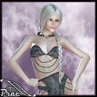 Aether Outfit For V4 3D Figure Essentials 3D Models prae