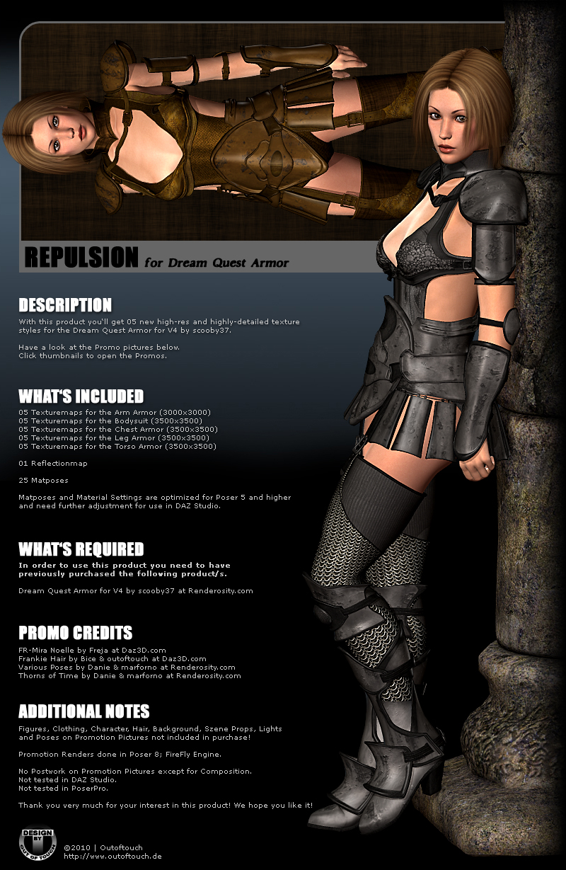 REPULSION for Dream Quest Armor for V4 by scooby37