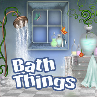 Bath Things 2D And/Or Merchant Resources Themed Makena