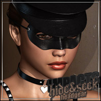 IMPACTS: Hide & Seek HeadGear 3D Models 3D Figure Essentials outoftouch