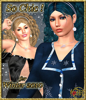 SoChic for Winter 2010 3D Models 3D Figure Assets misthemes