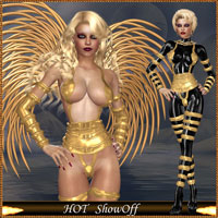 HOT ShowOff 3D Figure Essentials lululee