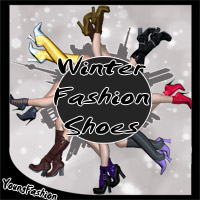 Winterfashion Shoes 3D Figure Essentials SWAM