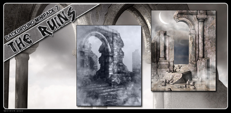 Background Mini-Pack 07: The Ruins