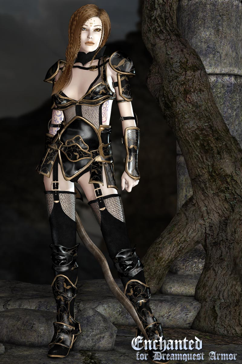 Enchanted for Dreamquest Armor 3D Models 3D Figure