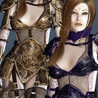 Enchanted for Dreamquest Armor Themed Clothing kaleya