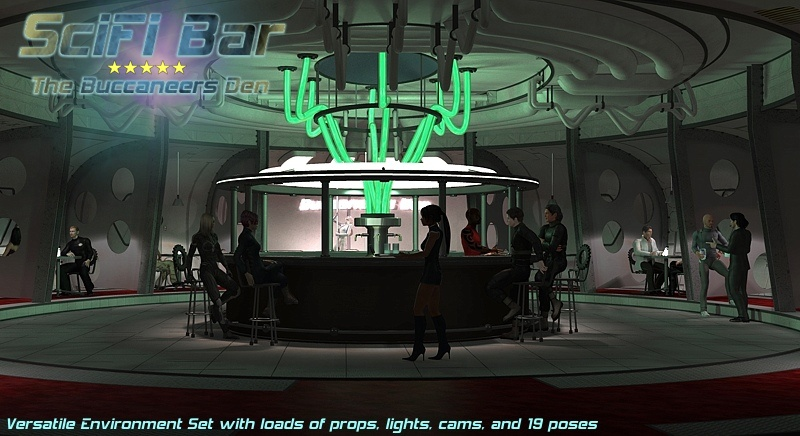 SciFi Bar by 3-D-C