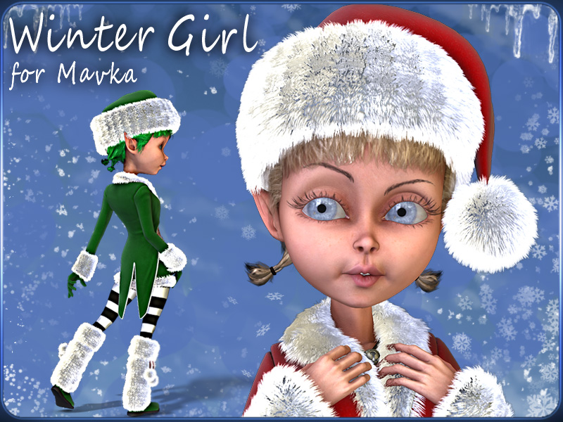 Winter Girl for Mavka