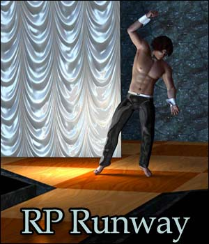 RP Runway Poser and Obj 3D Models 3D Figure Essentials RPublishing