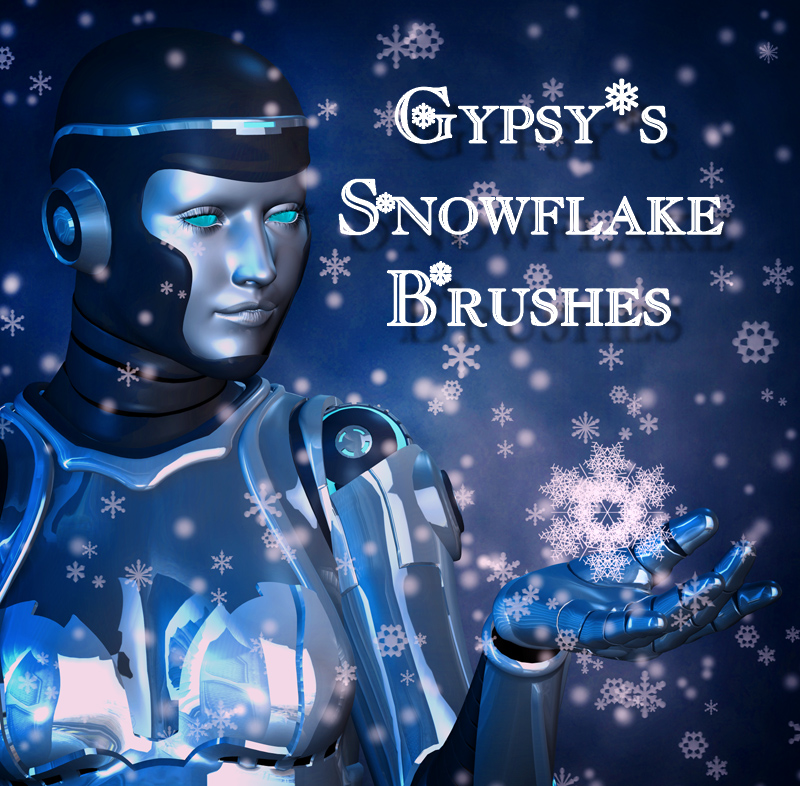 Gypsys Snowflake Brushes