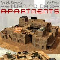 Return To Driza- Apartments 3D Models IanMPalmer
