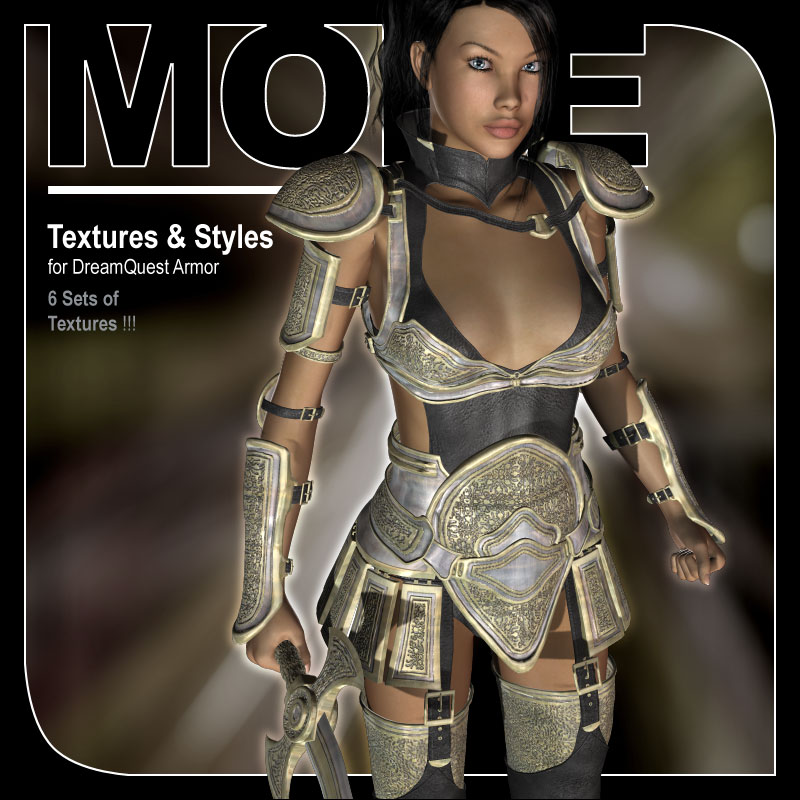 MORE Textures & Styles for DreamQuest Armor by motif