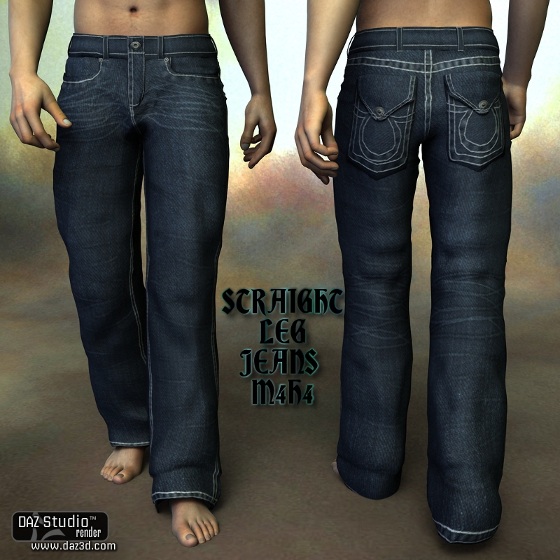Sickle Straight Leg Jeans M4H4