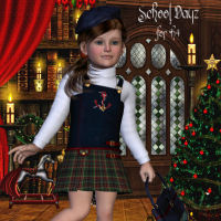 School Dayz for K4 3D Figure Assets LadyFay