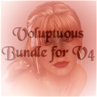 Voluptuous Bundle for V4 Characters Themed Nathalie_