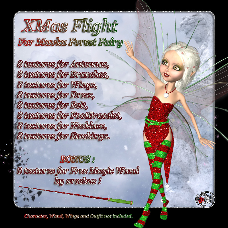 XMas Flight for Mavka Forest Fairy