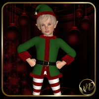 Santa's Helper 3D Models 3D Figure Essentials WildDesigns