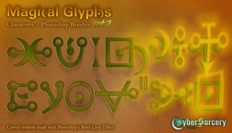 Magical Glyphs - Characters 2